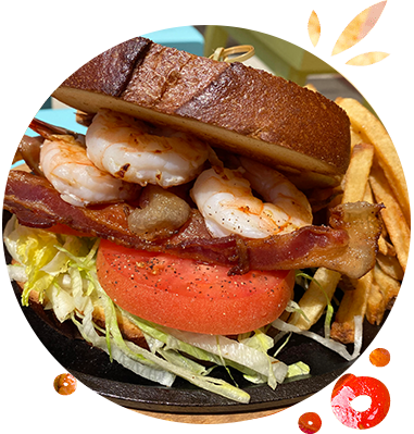 Stock Rock Cafe Shrimp BLT