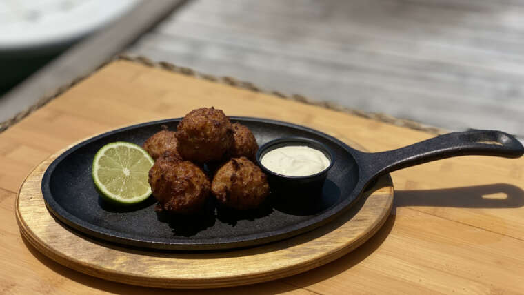 Happy Hour Conch Fritters