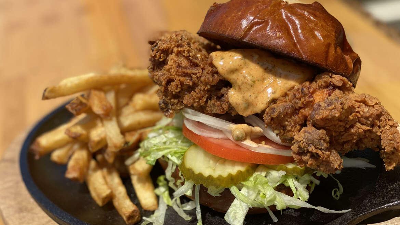 Feisty Fried Chicken Sandwich