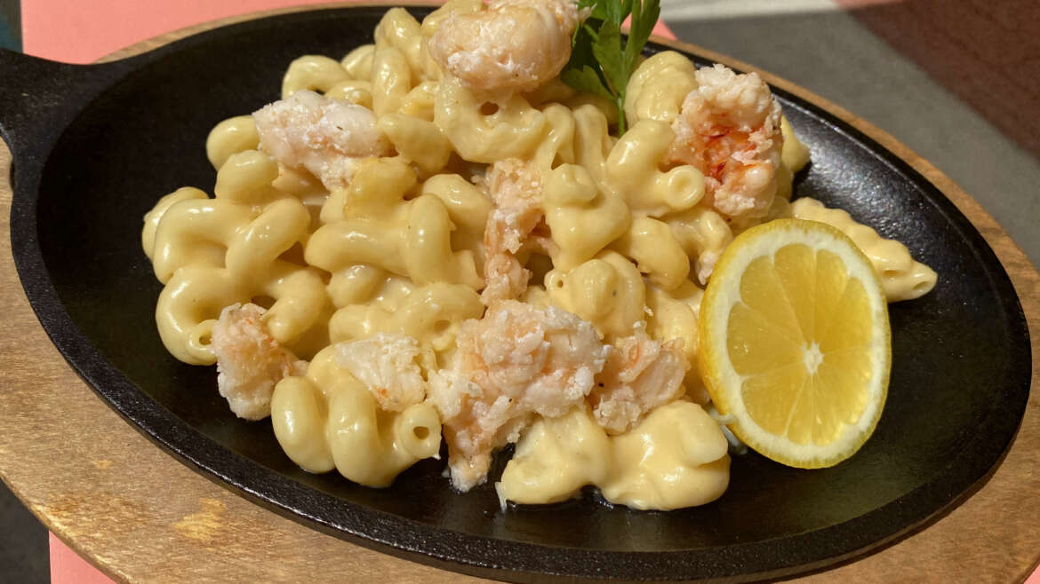 Happy Hour Lobster Mac & Cheese